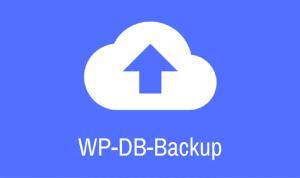 WP DB Backup